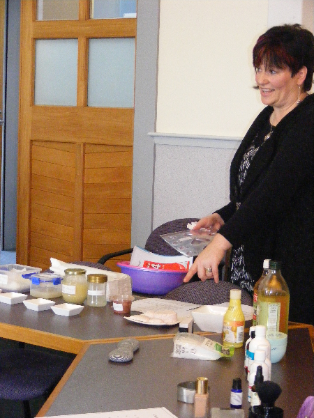 Speed Learning - Making your own beauty products